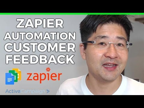Zapier How to automate customer feedback collection using Google Forms ActiveCampaign and Zapier