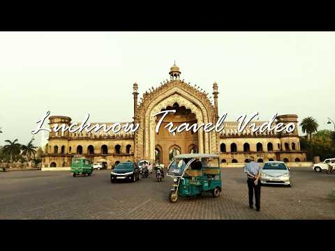LUCKNOW TRAVEL VIDEO : Bada Imambada , Chota Imambada , Nakhas Market