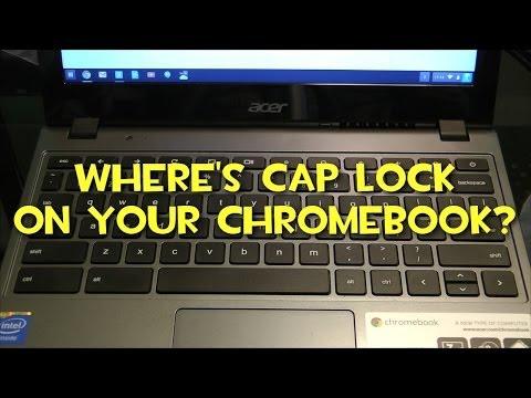 Where Is Caps Lock On My Google Chromebook?