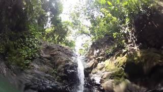 Costa Rican Waterfall Slide!