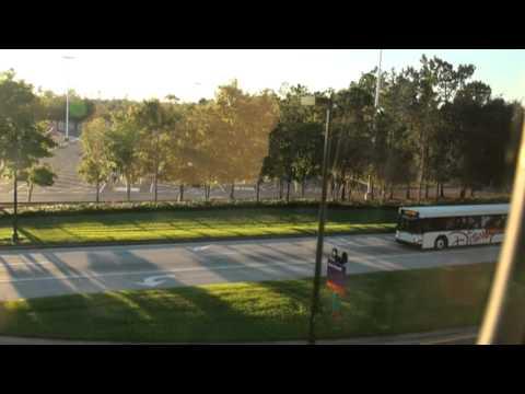 Walt Disney World Monorail Ride - Epcot to TTC
