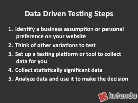 Website Design Tip: Data Driven Website Design