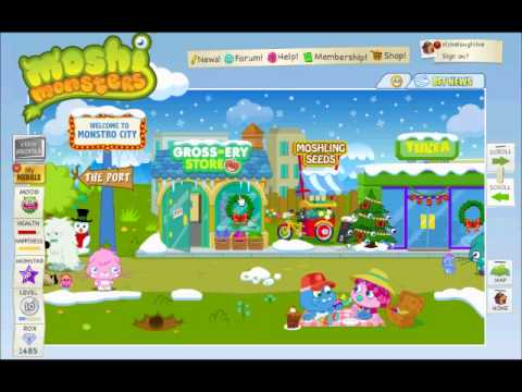 Moshi Monsters how to make your Monster VERY HAPPY and HEALTHY!
