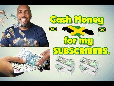 Ten Thousand Jamaican Dollars For My Subscribers