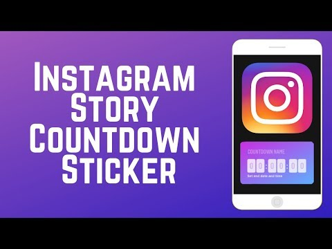 How to Use The NEW Instagram Story Countdown Sticker!