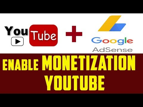 How To Enable Monetization On YouTube Channel 2017