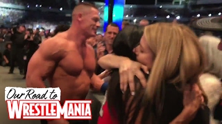 Mama Cena and Mama Bella break down in tears during proposal at WrestleMania!