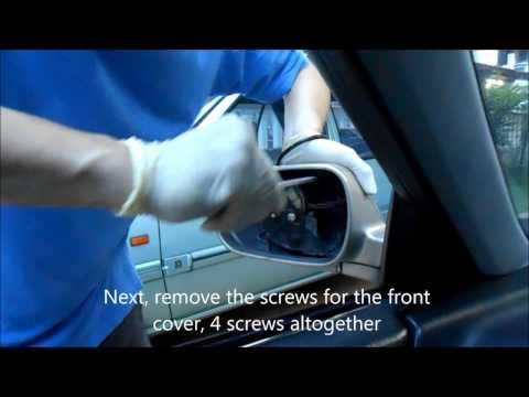 4th Generation Honda Accord Side Mirror Repair DIY