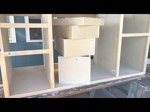 Making Kitchen Cabinets Part 3 - Drawers