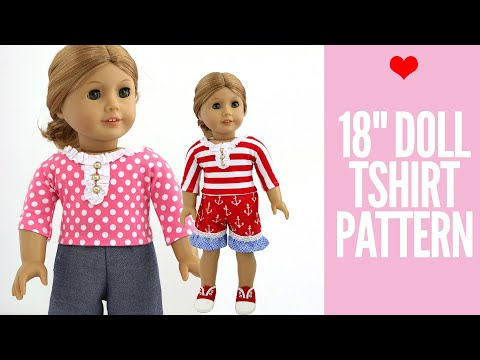 Doll Clothes Patterns - Free 18
