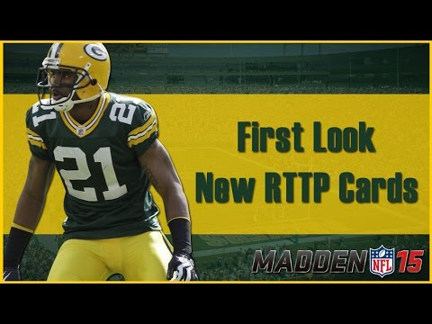 Madden 15 Ultimate Team | First Look: New RTTP Cards & Packs