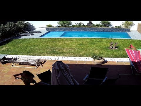 4K Building a pool, step by step from scratch, Our dream home.