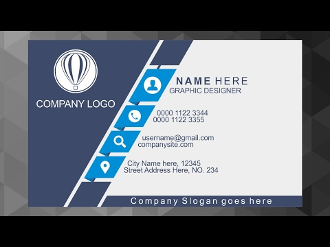 Business Card Design Inspiration | Corel Draw Tutorial