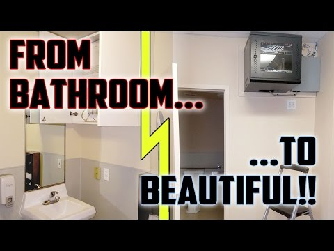 #020: Small Office Network Rebuild: From Bathroom to Beautiful!!
