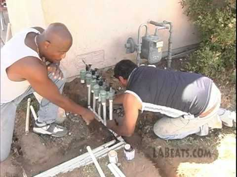 Single Daddy Show - How to install a Automatic Sprinkler System