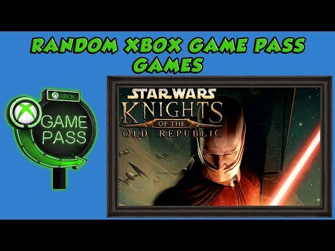 Star Wars Knights Of The Old Republic - Lets Play A Random Xbox Game Pass Game