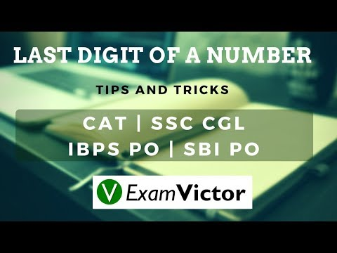 ExamVictor.com - Finding the Last Digit of a Number