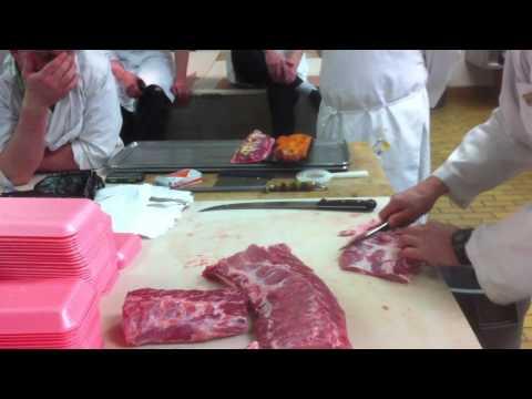 Meat Cutting Demo - Boneless Pork Loin Part 2
