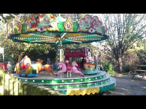 Merry-Go-Round Ride At Bristol Zoo Gardens, 1 November 2015