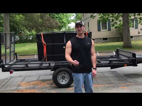 How To Check a Utility Trailer Wheel For a Bad Wheel Bearing