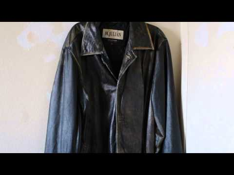 Dying a black leather jacket brown?