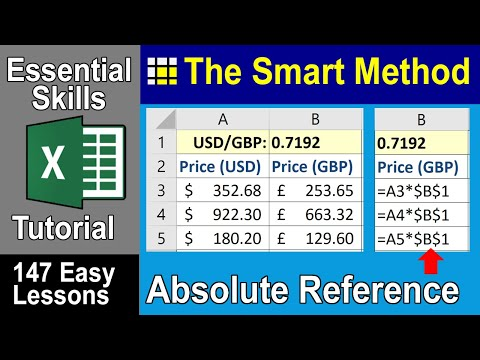 Excel Tutorial: Absolute and relative Excel reference | ExcelCentral.com