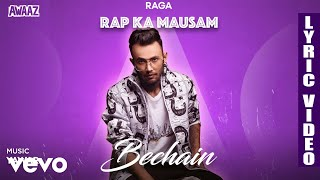 Bechain - Official Lyric Video   Raga   Bechain
