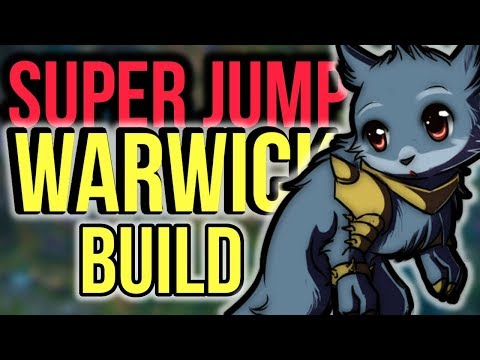 Crazy Strong Warwick Carry Build - SUPER JUMP WARWICK - League of Legends