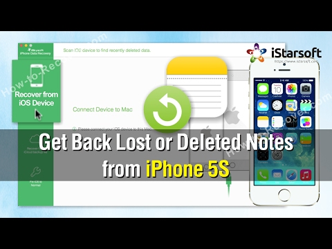 How to Get Back Lost or Deleted Notes from iPhone 5S