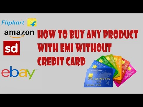 how to buy any product with EMI without credit card
