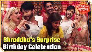 Shraddha Arya Gets A Surprise Birthday Celebration The Sets Of Kundali Bhagya |Saas Bahu Aur Saazish