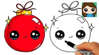 how to draw a present easy