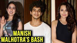 Tiger Shroff, Janhvi Kapoor, Sonakshi Sinha And Stars At Manish Malhotra's Bash