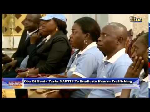 Benin Monarch tasks NAPTIP to eradicate human trafficking