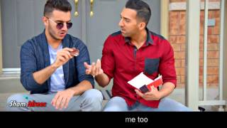When your friend asks you for a bite | Sham Idrees