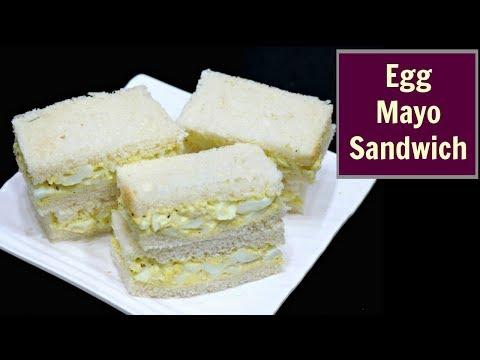 Egg Mayonnaise Sandwich | अंडा सैंडविच | Lunch Box Recipe | KabitasKitchen
