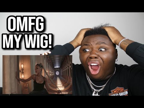 REACTING TO NO TEARS LEFT TO CRY (wig snatched)