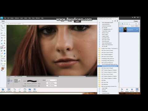 Eye Bag Cleanup Tutorial - Photoshop Elements 11