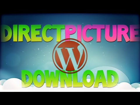 How To Make Image Link Into A Direct Download Link In WordPress