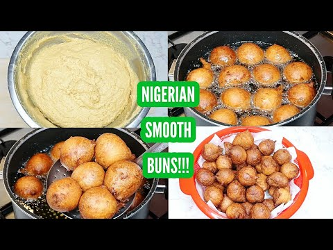 How to make Nigerian buns | Smooth, chewy & gooey... For kids & adults!