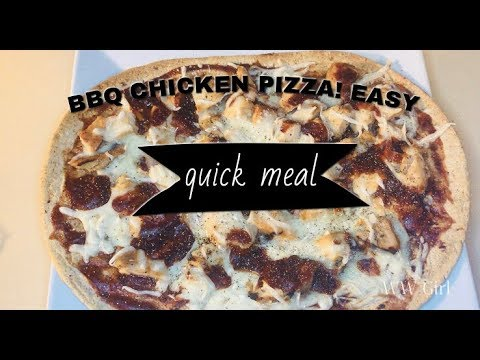 Weight Watchers Freestyle - Easy BBQ Chicken Pizza using a New Food Find!