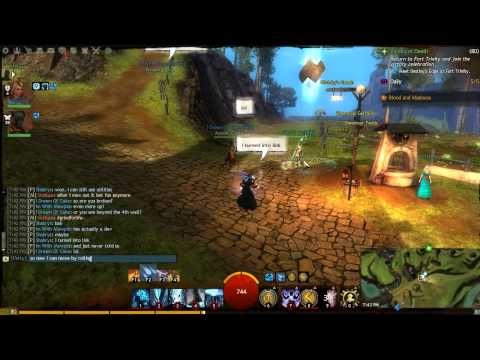 Guild Wars 2 - Infinite Dodge Rolling