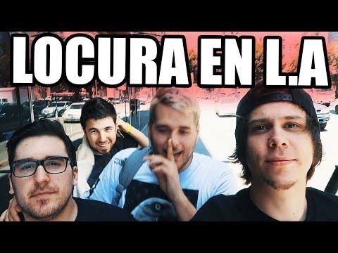 LOCURA EN LOS ANGELES CON WILLYREX RUBIUS Y MANGEL!!!