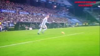 Celta de Vigo 3 vs Málaga 1 Gol de Fontas