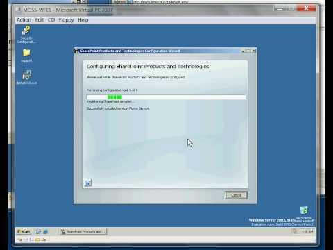 SharePoint Server 2007 Farm Installation - Part 5 Join new server to farm
