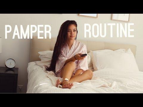 Pamper Routine | viviannnv