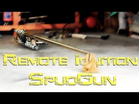 Remote Ignition SpudGun (100kV stungun)