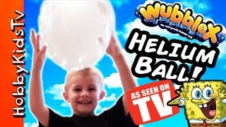 Wubble-X Helium Floating Ball!