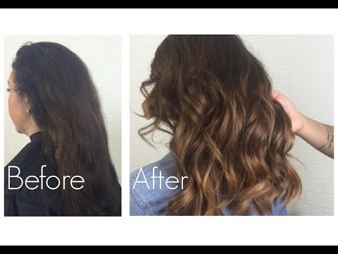 Natural Ombre with minimal damage to hair || Bianca Gover