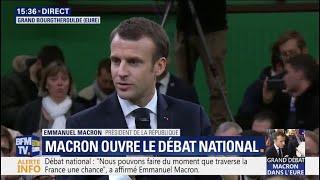Download Débat national: Emmanuel Macron appelle à ″refuser la violence et la démagogie″ Video